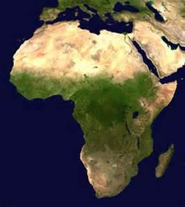 Afrika kaart